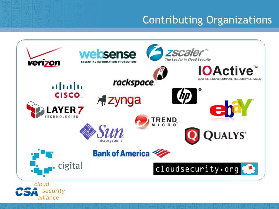 Contributing Organizations