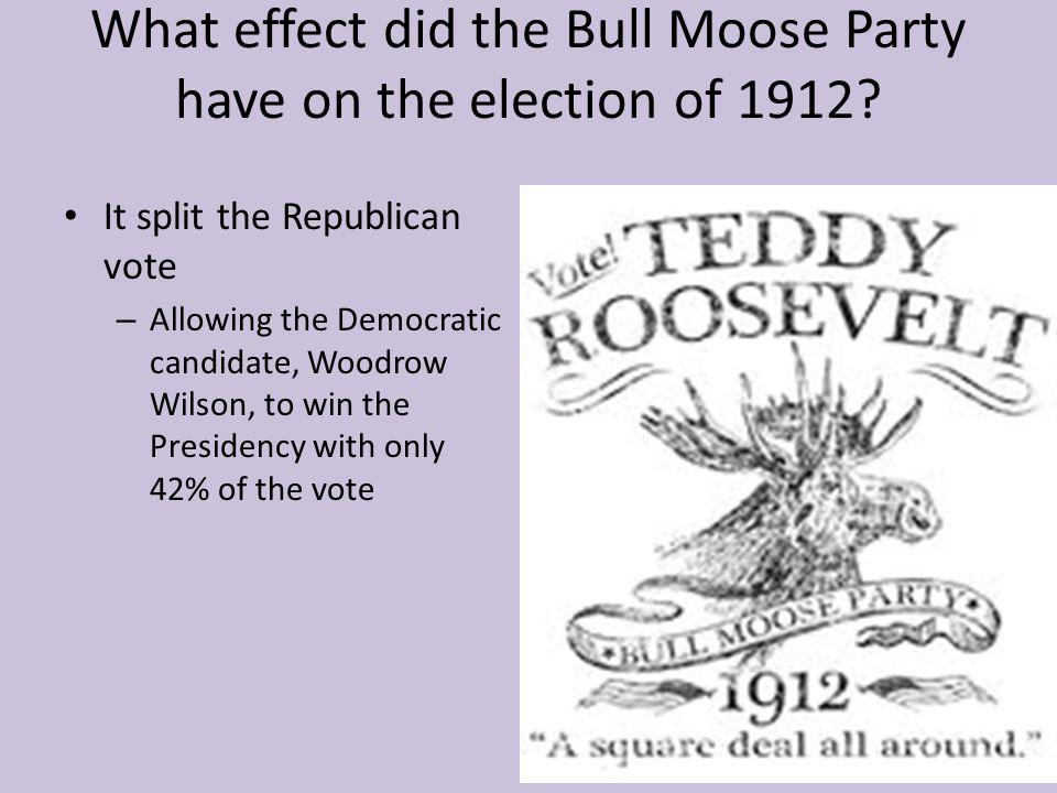 What reforms did Woodrow Wilson seek.