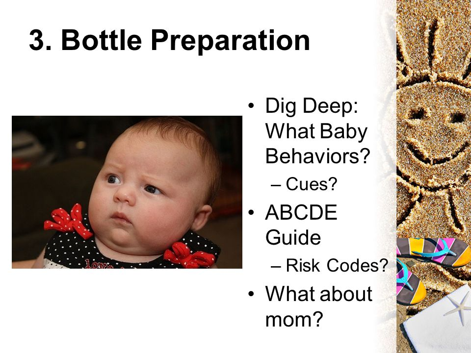 3. Bottle Preparation Dig Deep: What Baby Behaviors.