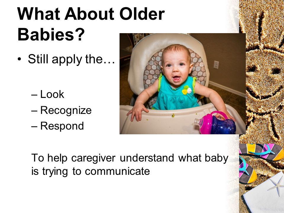 What About Older Babies.