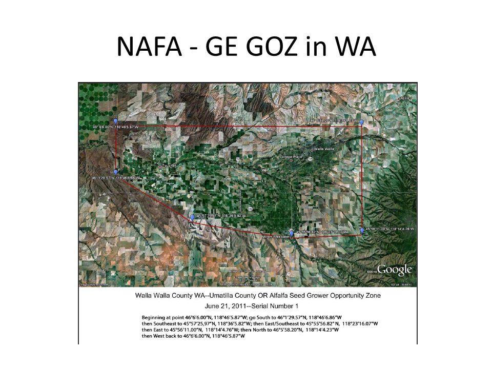 NAFA - GE GOZ in WA