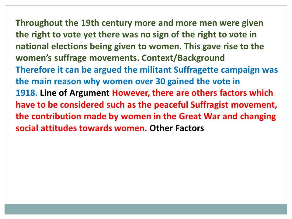 Emmeline Pankhurst established the Suffragettes (WSPU), in 1903 with the motto 'Deeds Not Words .