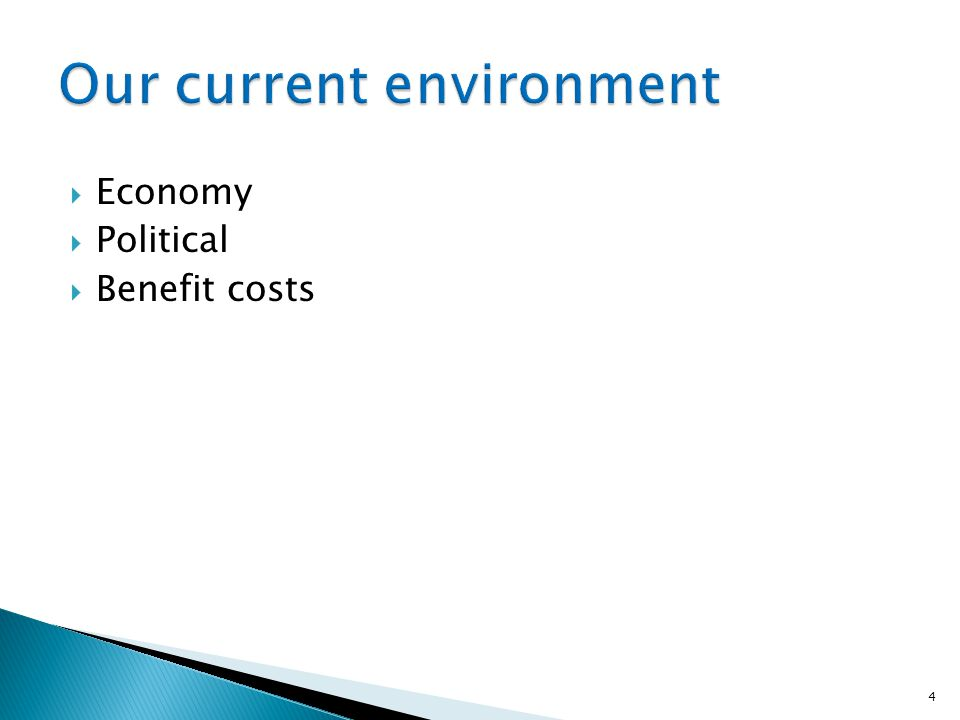  Economy  Political  Benefit costs 4