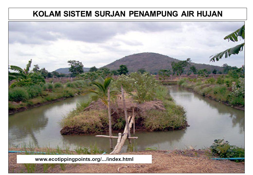 KOLAM SISTEM SURJAN PENAMPUNG AIR HUJAN www.ecotippingpoints.org/.../index.html