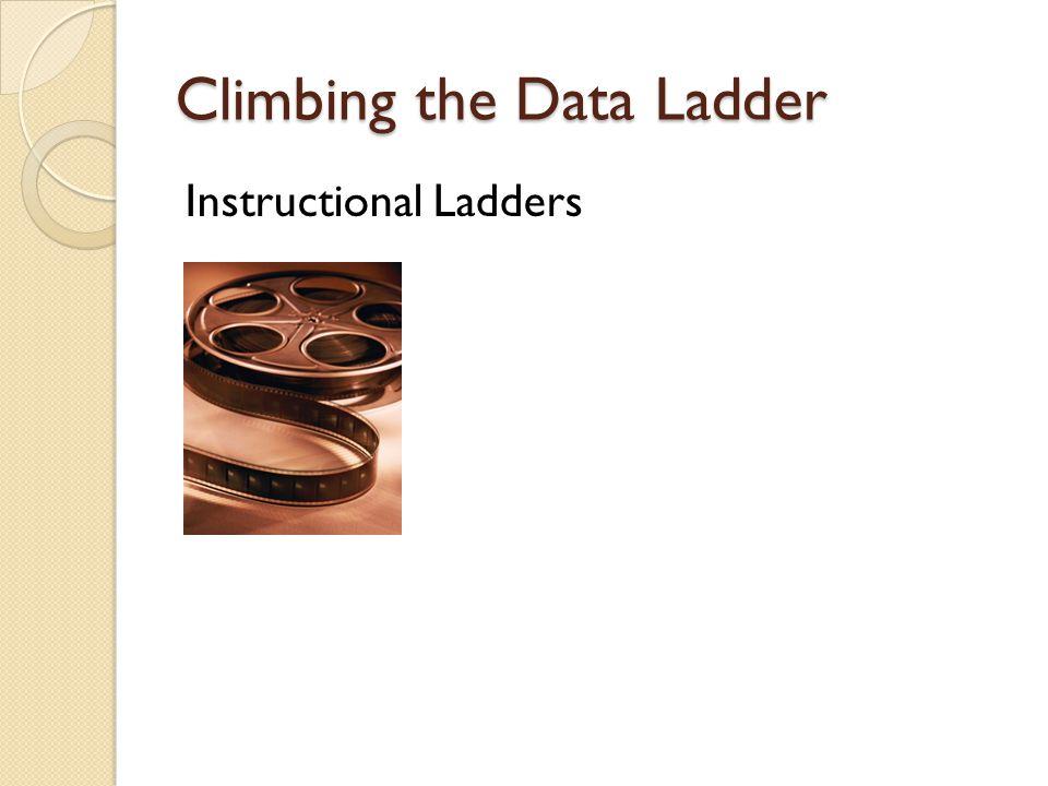 Climbing the Data Ladder Instructional Ladders