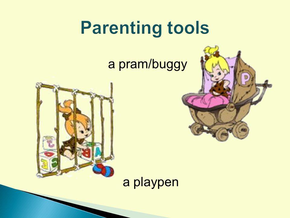 a pram/buggy a playpen