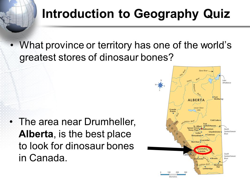 Introduction to Geography Quiz What is the name of the longest river in Canada.