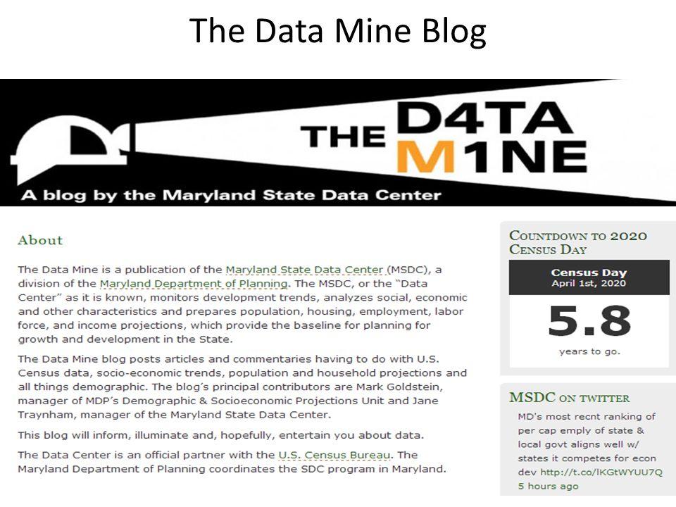 The Data Mine Blog