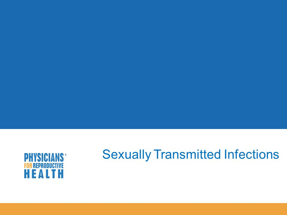  Sexually Transmitted Infections