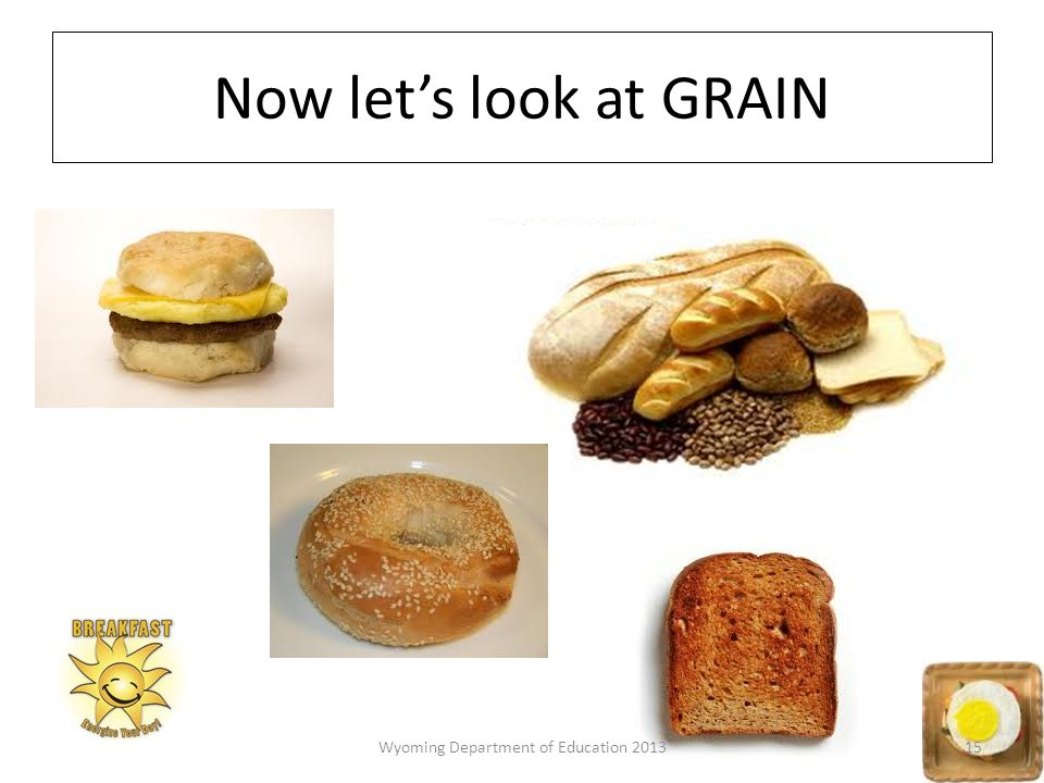Now let's look at GRAIN 15Wyoming Department of Education 2013