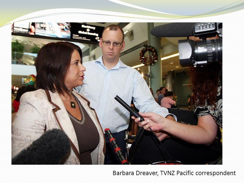Barbara Dreaver, TVNZ Pacific correspondent