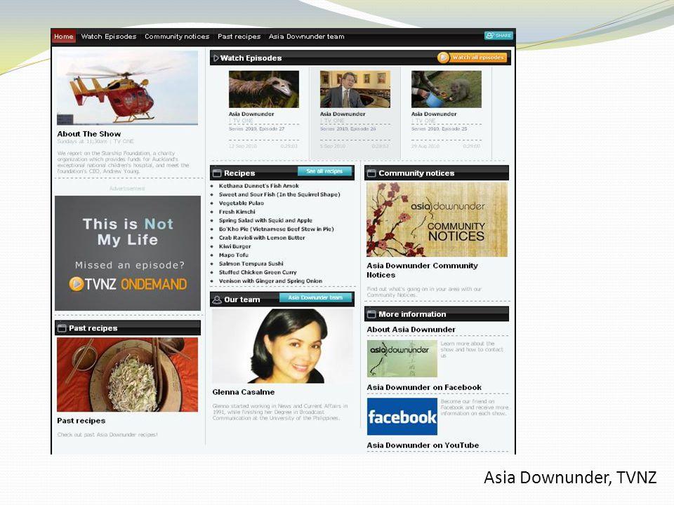 Asia Downunder, TVNZ