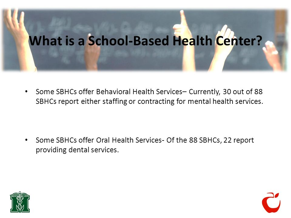 What is a School-Based Health Center.