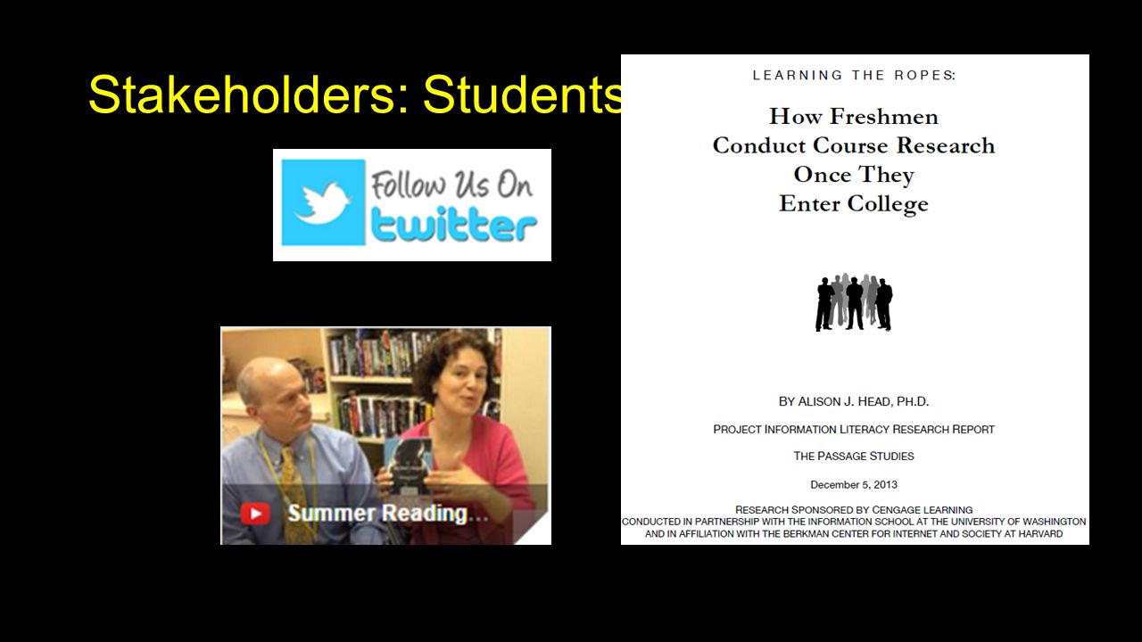 Stakeholders: Students