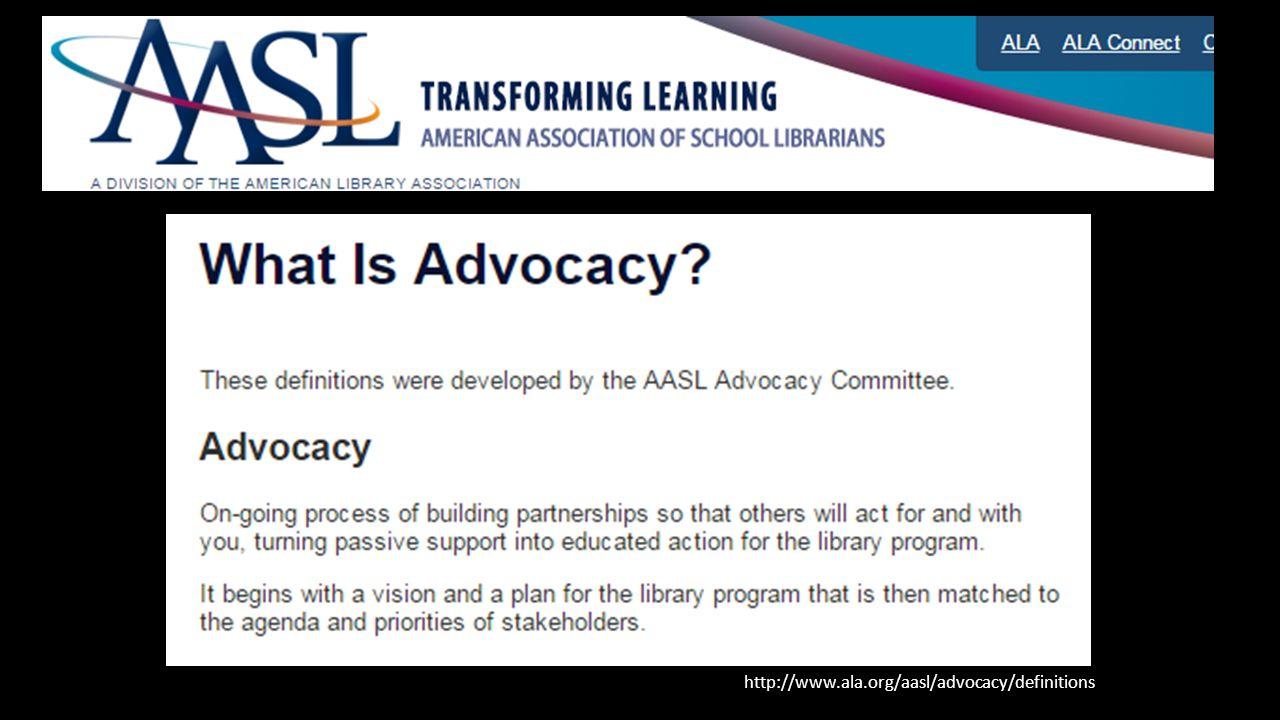 http://www.ala.org/aasl/advocacy/definitions