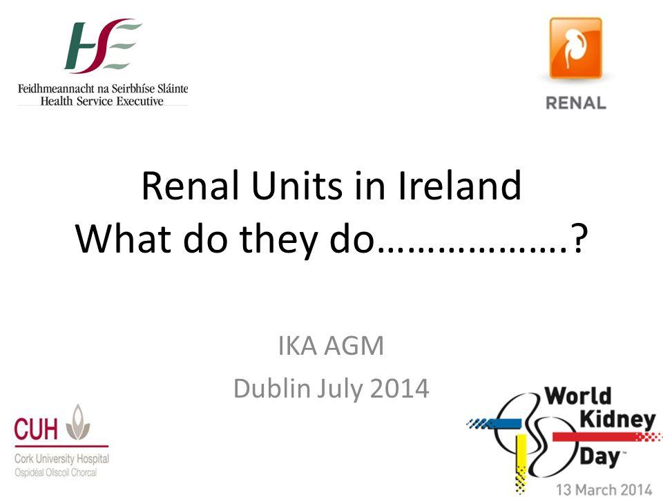 Cardiac-Renal Centre Cork University Hospital