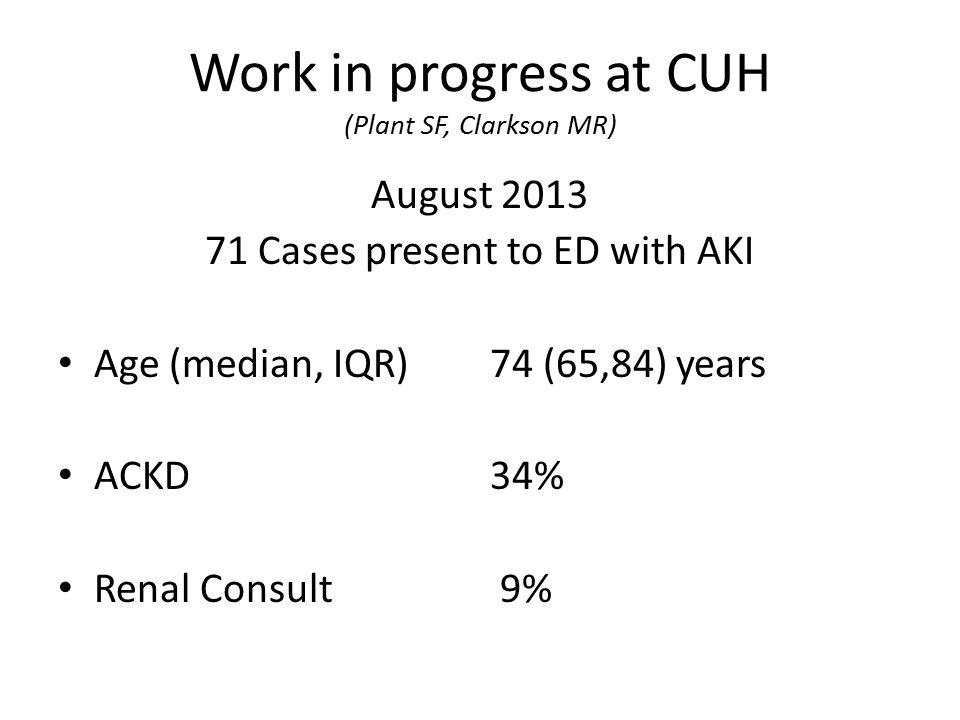 564 ESKD Patients in SW