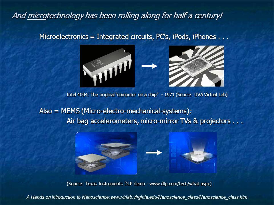 To the Bleeding Edge: Where nanoscience might be taking us: Class 10) Emerging nano-mechanical technologies Class 11) Emerging nano-energy technologies Class 12) Emerging nano-electronic technologies VgVg V ds
