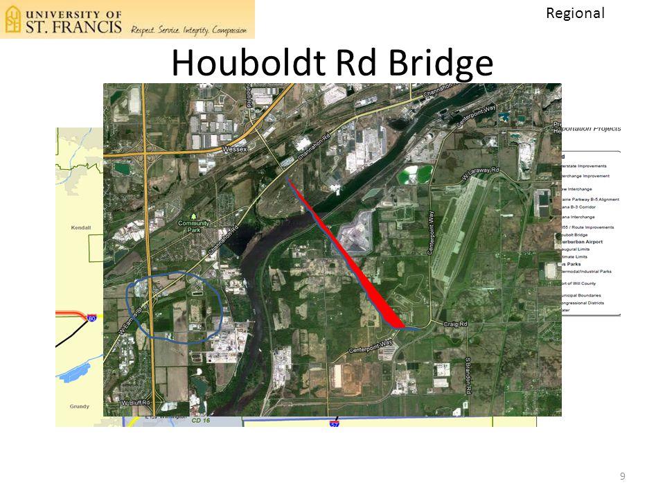 Houboldt Rd Bridge 9 Regional