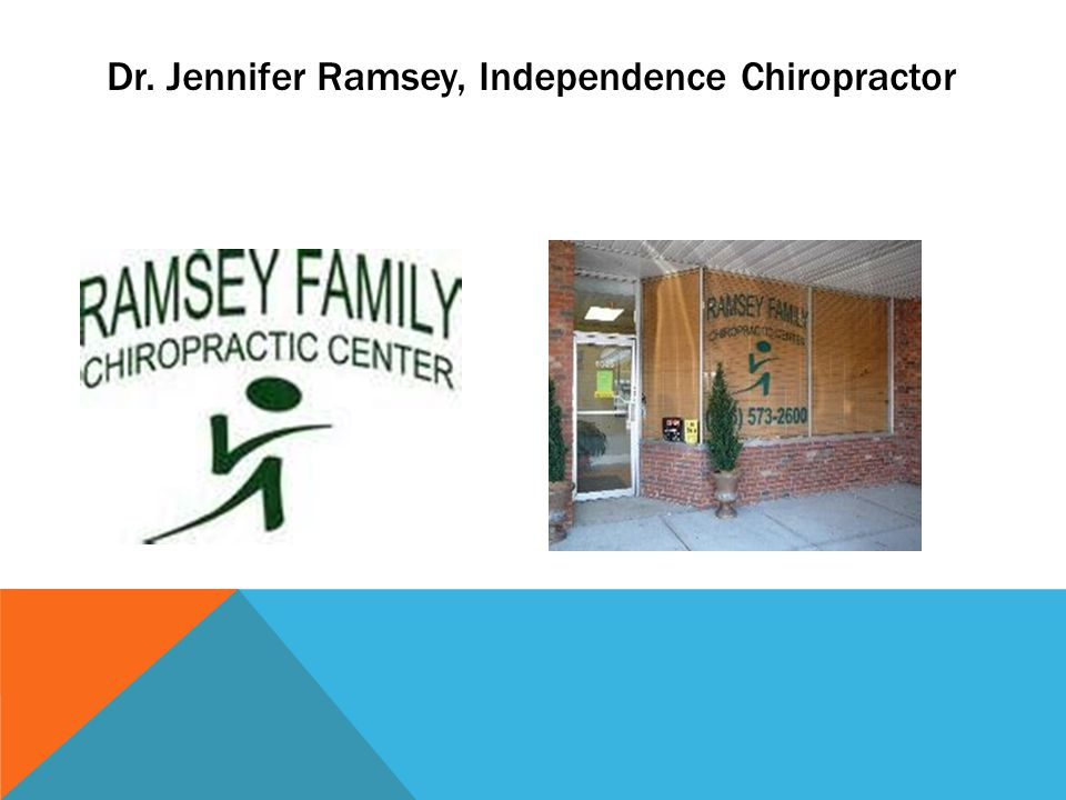 Dr. Jennifer Ramsey, Independence Chiropractor