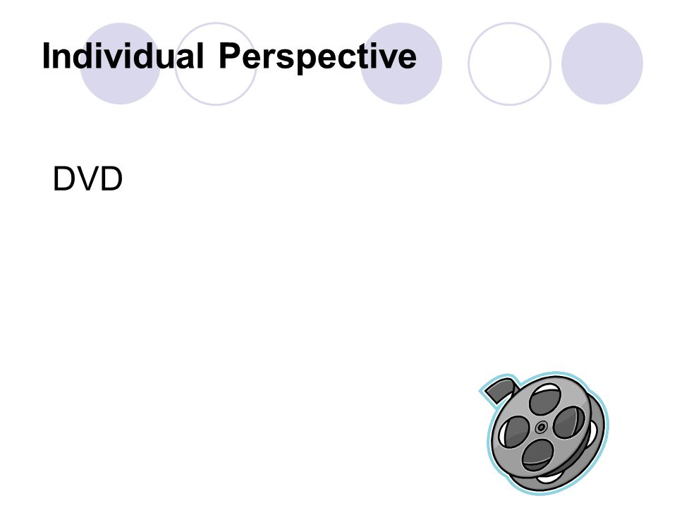 Individual Perspective DVD