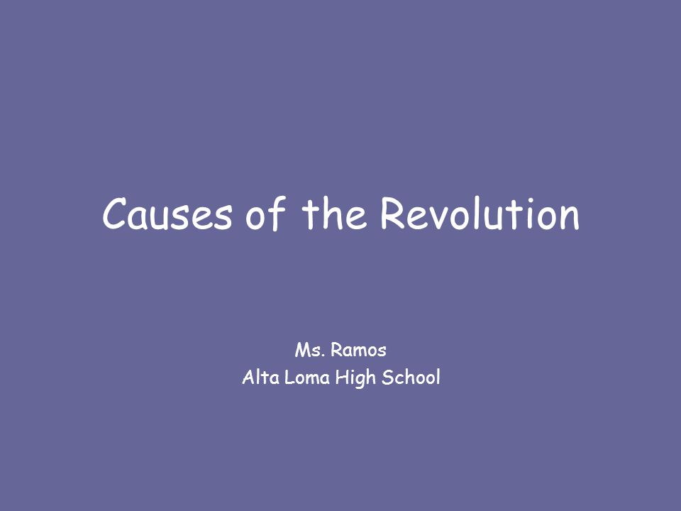6.Write a one-two sentence thesis on the causes of the American Revolution.