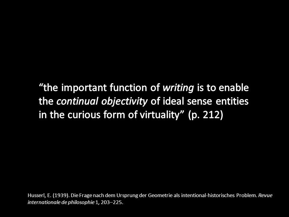 Husserl, E. (1939).