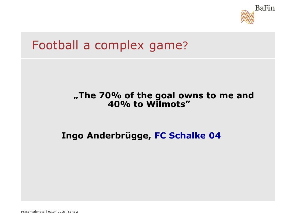 """Präsentationtitel 