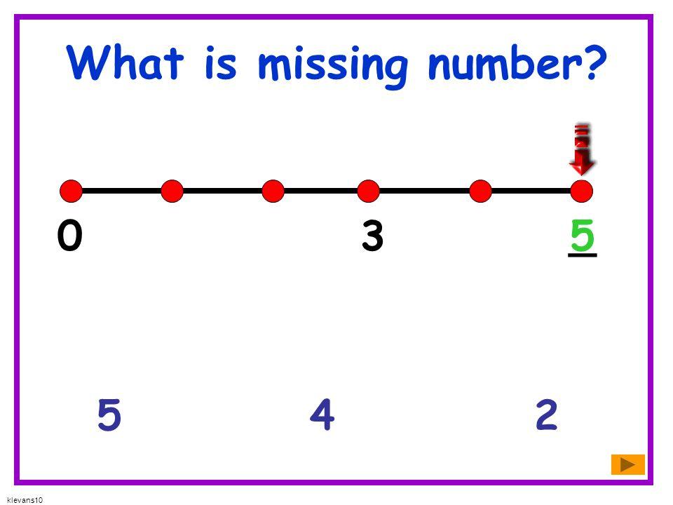 klevans10 What is missing number? 876 9 10 6_