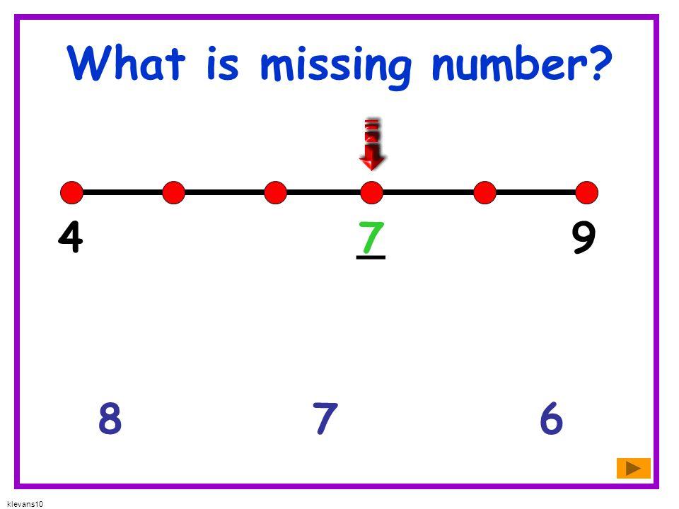 klevans10 What is missing number? 542 _ 503