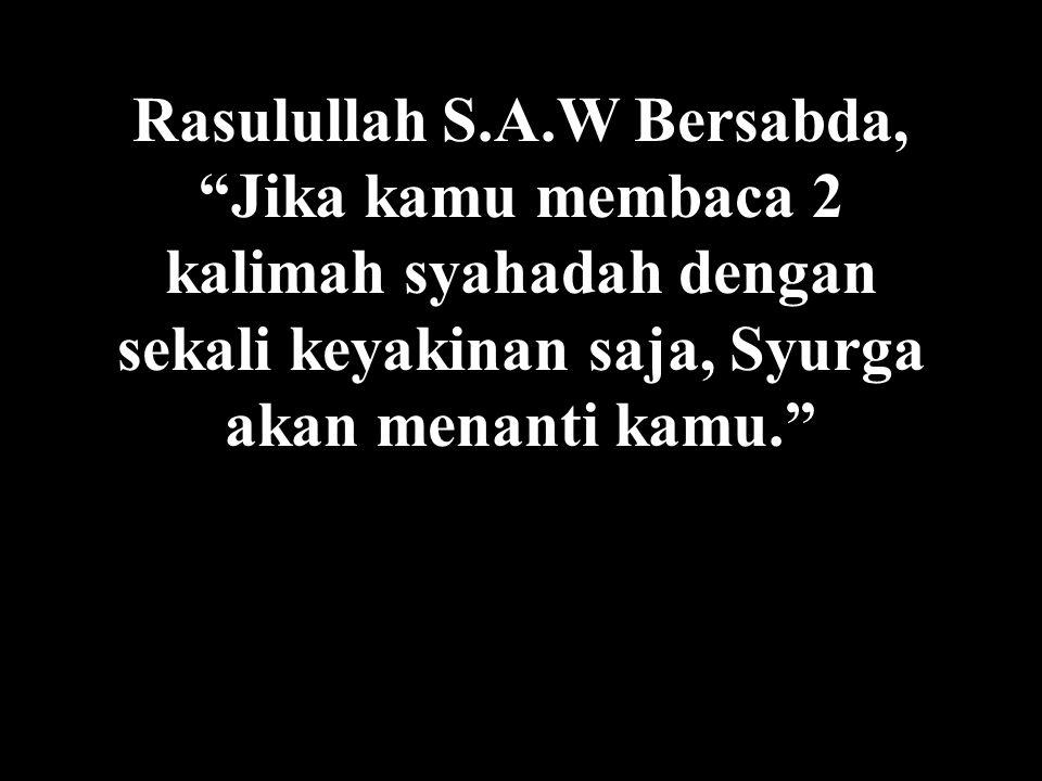 Jika anda tidak malu, kirim pesan ini kepada muslim2 yang lain...