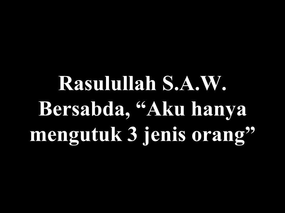 Aneh ya, bagaimana orang begitu berbondong – bondong setiap hari Jumaat mengingat Allah...tetapi jadi muslim yang tak terlihat di sisa minggunya