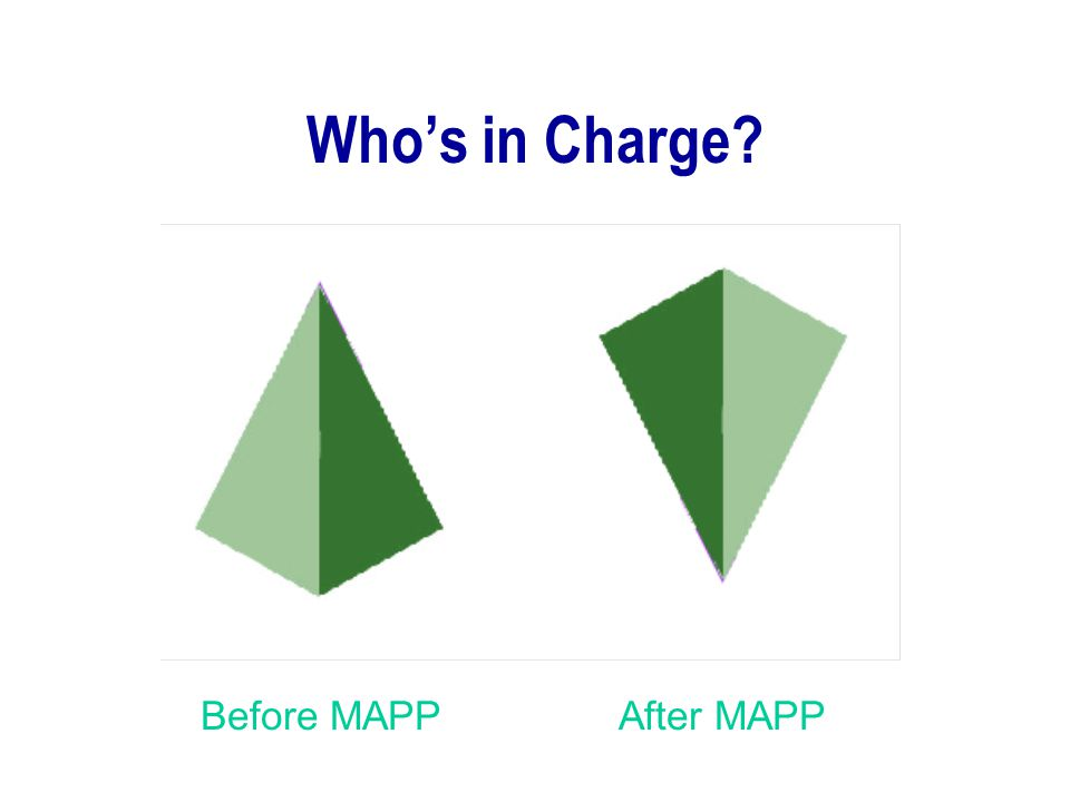 Who's in Charge? Before MAPPAfter MAPP