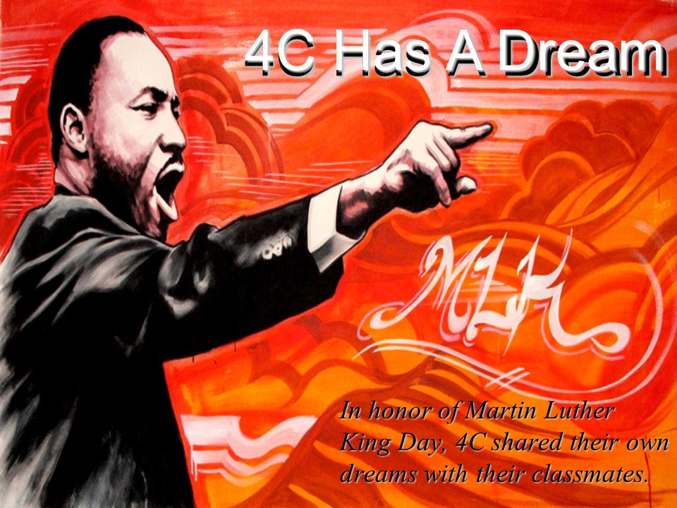 What's Your Dream.Justin W 4C I have a dream that all prices will be lower.