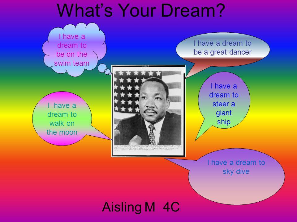 What's Your Dream.Antonina C.