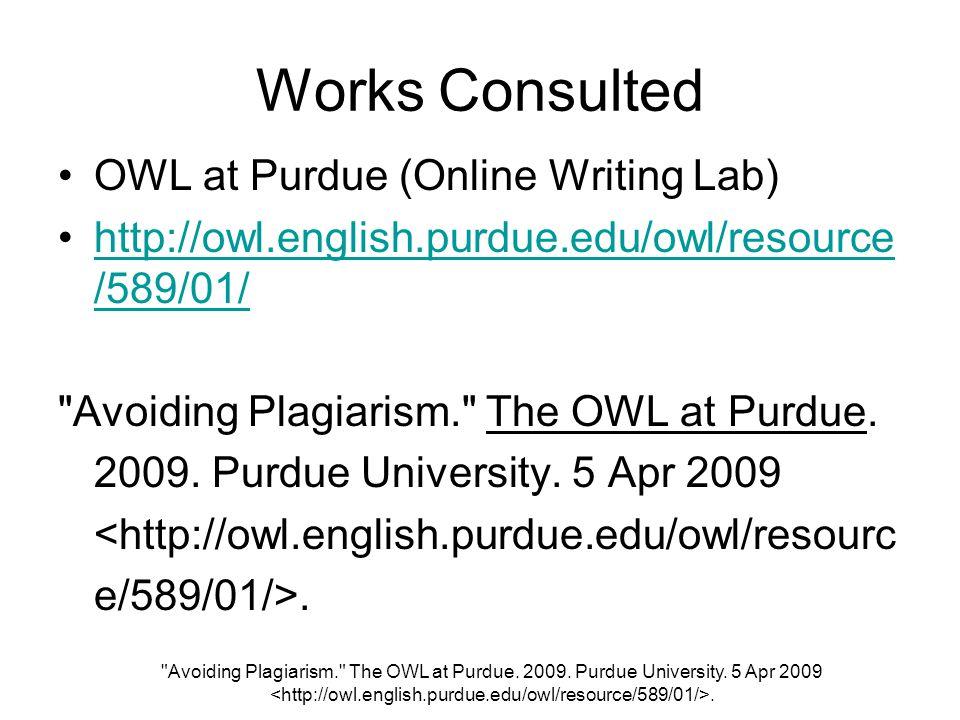 Mla bibliography owl at purdue run ons   casinosonlinelive com Purdue Online Writing Lab   Purdue University