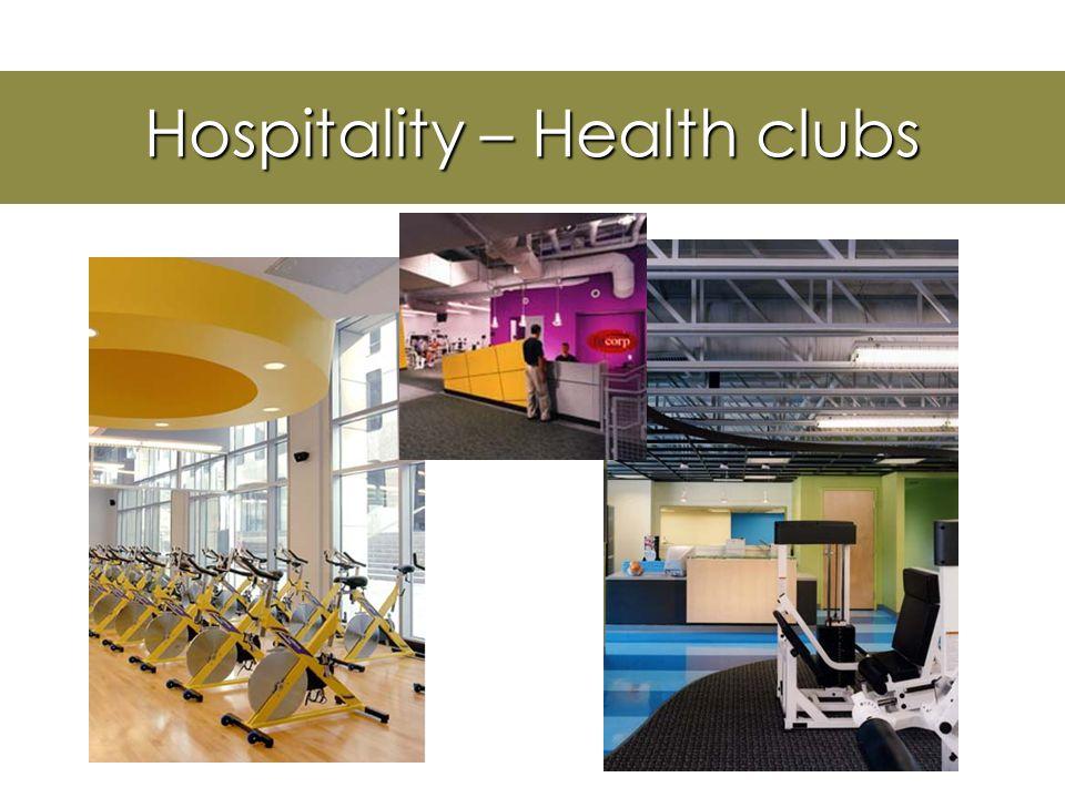Hospitality Design RestaurantCasino Night Club Hotel/Resort Fitness Center Convention Centers