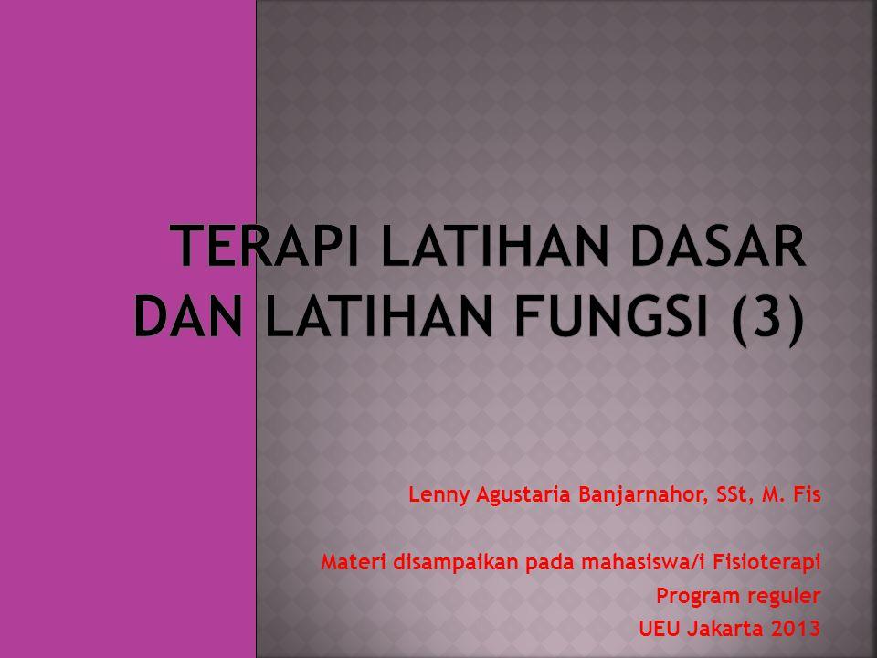 Lenny Agustaria Banjarnahor, SSt, M.