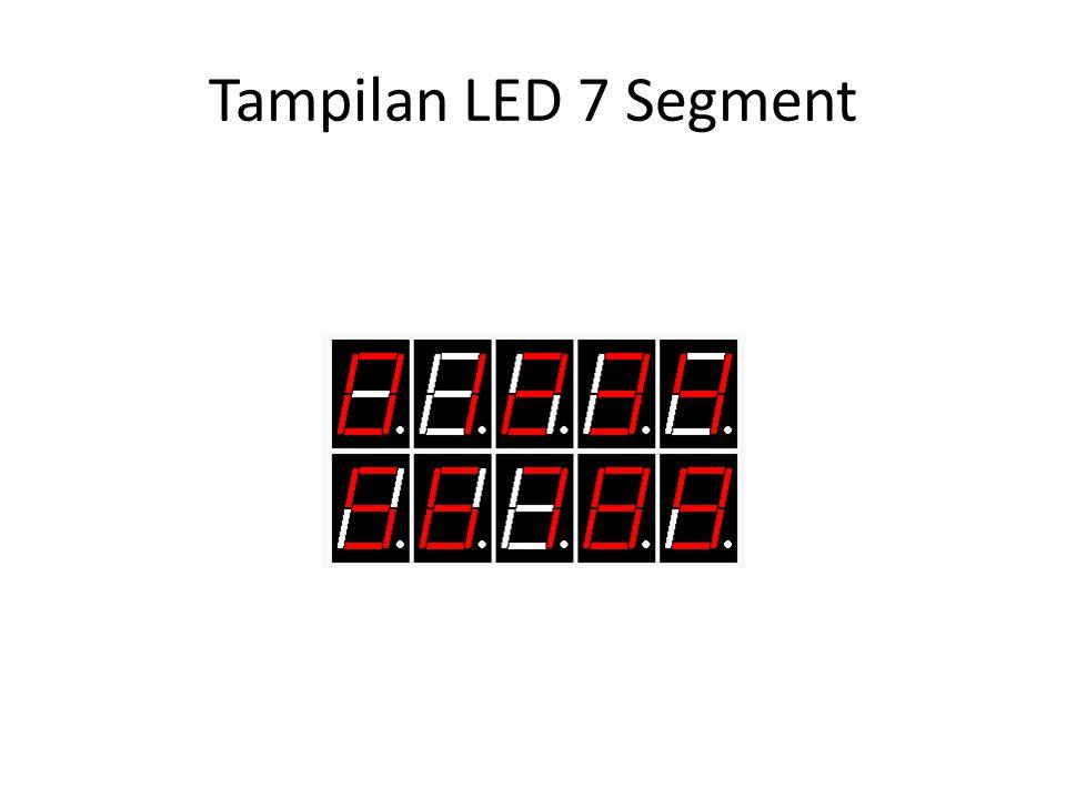 Tampilan LED 7 Segment