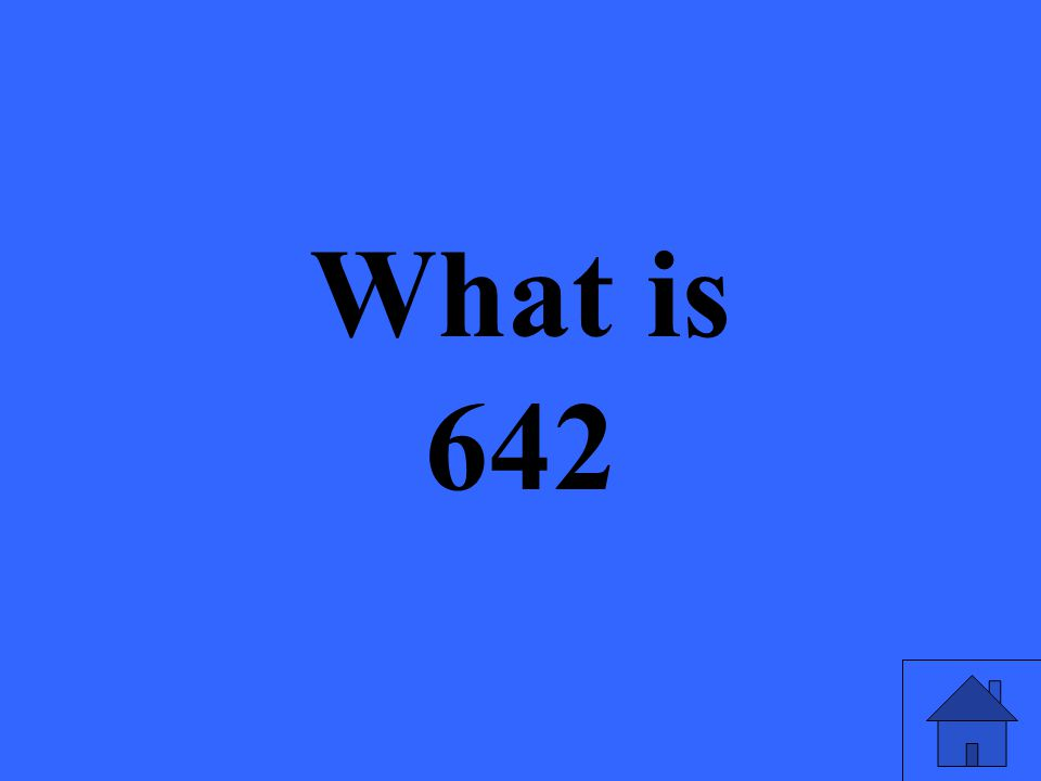 What is 642