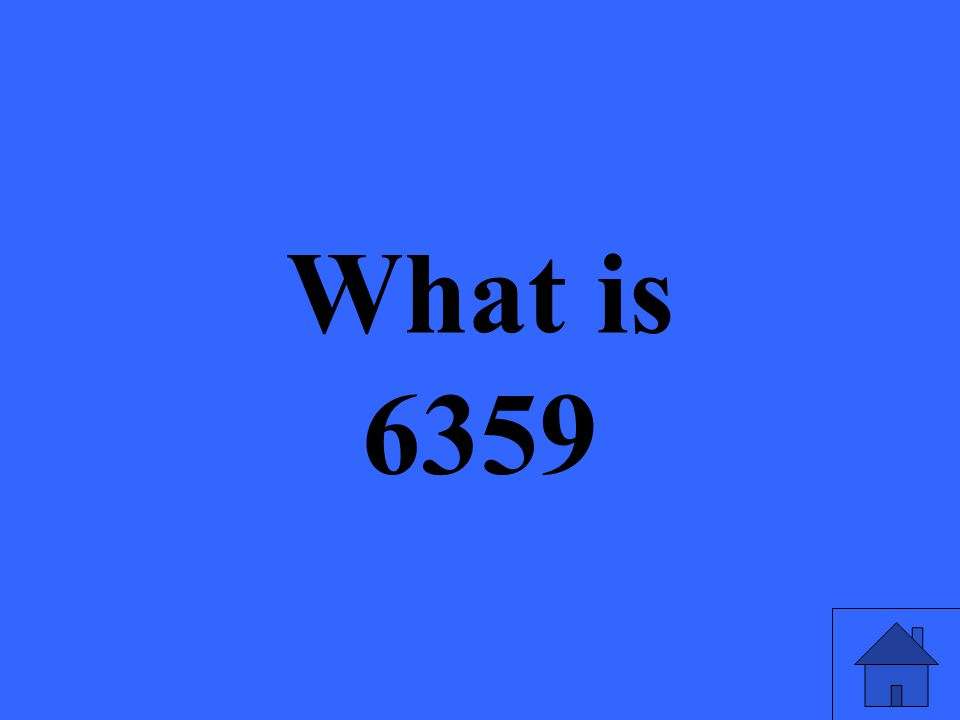 What is 6359