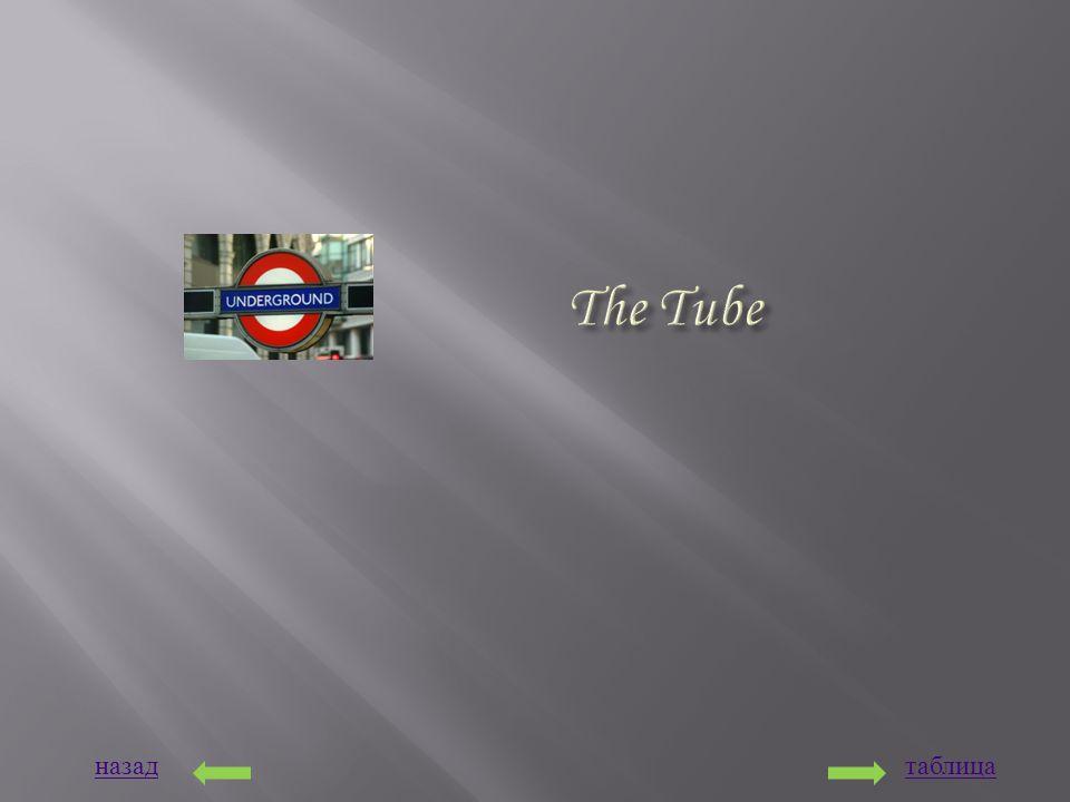назадтаблица The Tube