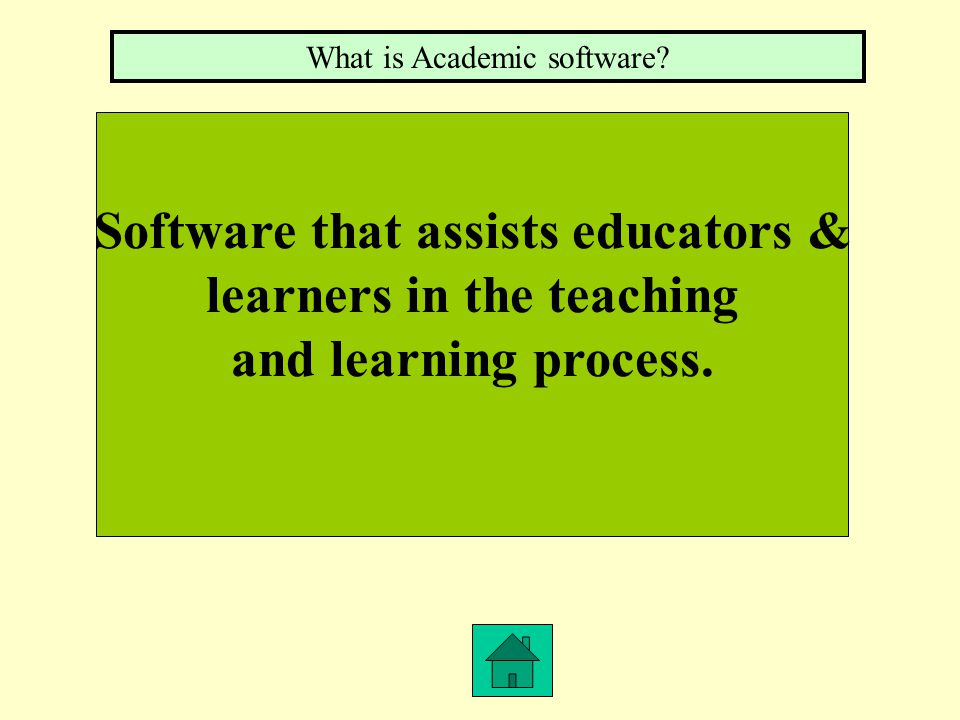 Generic business application software that educators use for administrative and professional tasks. What is Productivity Software?