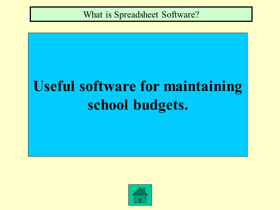 This software has made typewriters virtually obsolete. What is Word Processing Software
