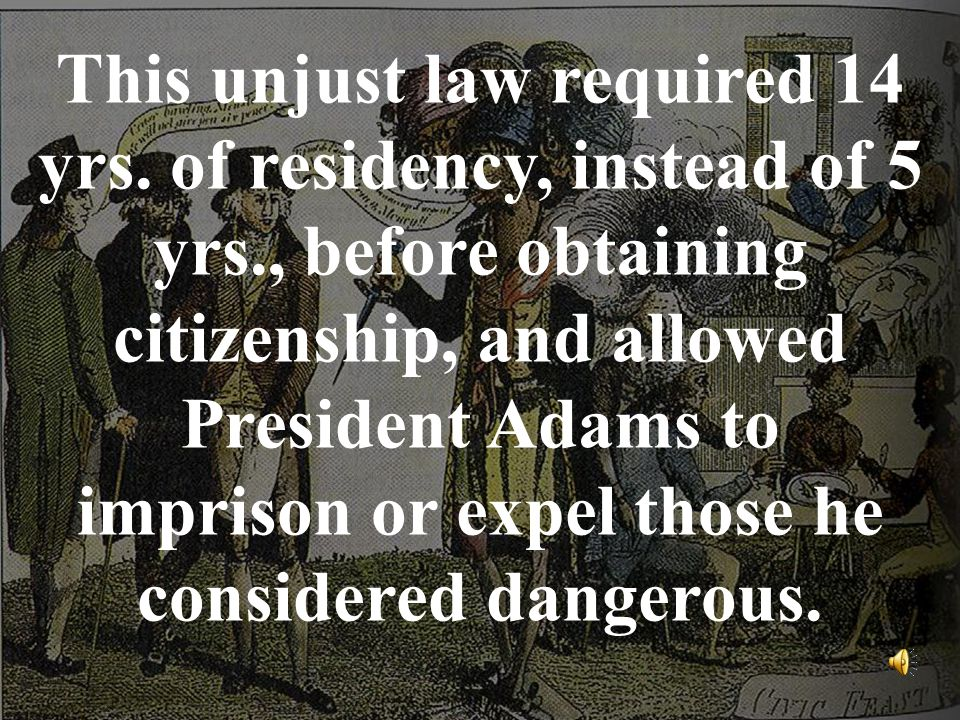 This unjust law required 14 yrs.