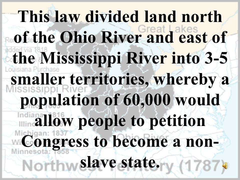 What is the Northwest Ordinance?