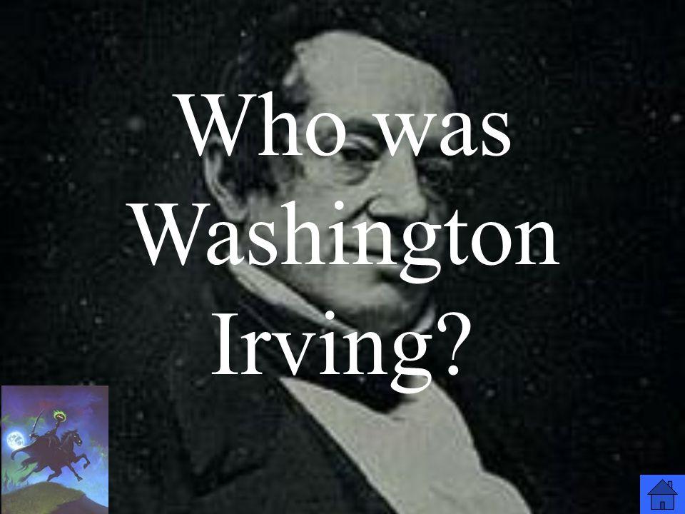 Who was Washington Irving?