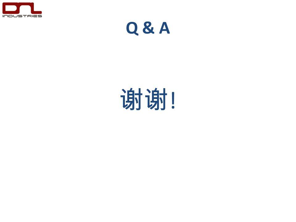 Q & A 谢谢 !