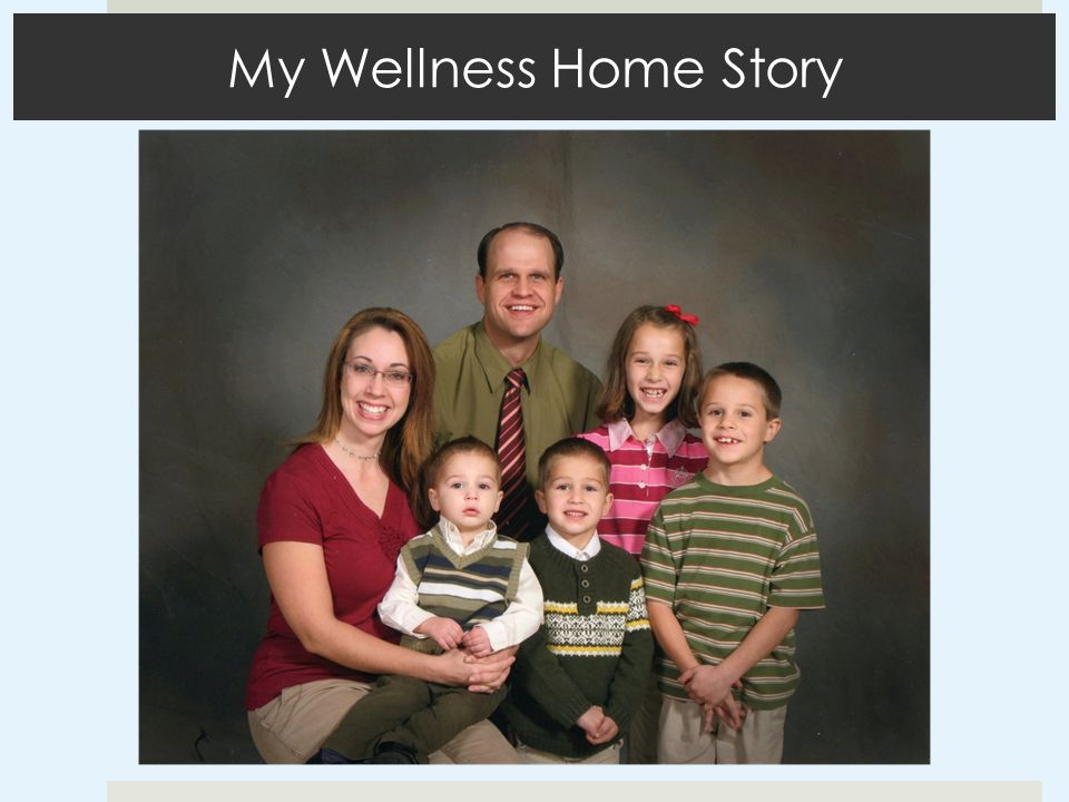 My Wellness Home Story