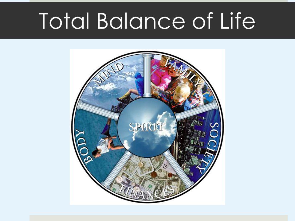 Total Balance of Life